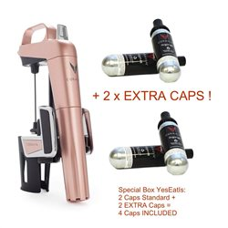 Model 2 ELITE Rose Gold - 2 EXTRA CAPSULE INCLUDED!