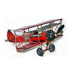Nitsche Germany  Original Metal Collectible Model - Fokker Airplane - 29x25x13 cm