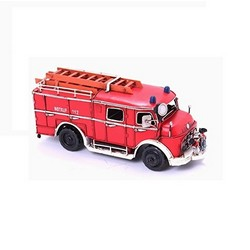 Nitsche Germany  Model Car Truck With Firefighting Equipment