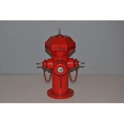 Nitsche Germany  Red hydrant model