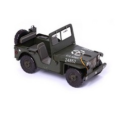 Nitsche Germany  Jeep Willys MB - Retro toy car