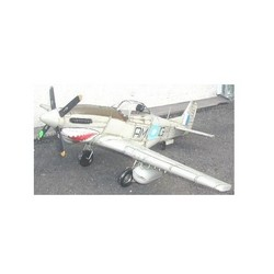 Nitsche Germany  Original Metal Collectible Model - Airplane Mustang P51 - 103x118x60 cm