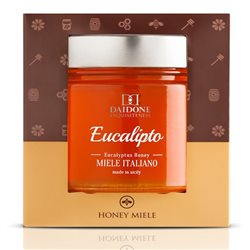 Handmade Sicilian Eucalyptus Honey - 270g Jar