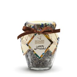 Handmade Sicilian Salt-Cured Capers - 130g Jar