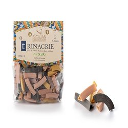 Handmade Sicilian Trinacrie Pasta in 5 Colours- 300g Package