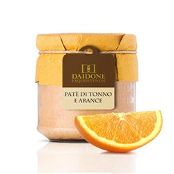 Daidone Exquisiteness Handmade Sicilian Tuna and Orange Pâté - 200g Jar