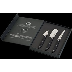 1896 Line - 3-Piece Cheese Knives Set  - Stainless Steel 4116 Blade and POM Handle