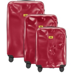 Trolley Icon Line - Set of Three Pieces (Cabin Baggage, Medium, Large) - Red