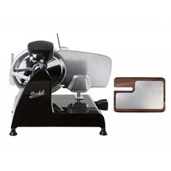BERKEL Slicer Red line 220 + Chopping board in ash and stainless steel (Black)