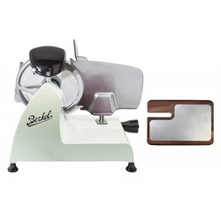 BERKEL Slicer Red line 250 + Chopping board in ash and stainless steel (Green)