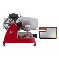 BERKEL Slicer Red line 250 + Chopping board in ash and stainless steel (Red)