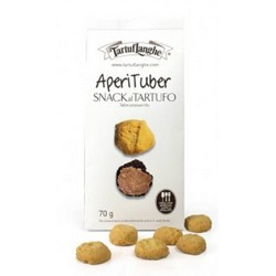 TartufLanghe APERITUBER – TRUFFLE SNACK - 12 Packs of 70g