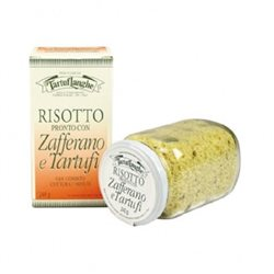 TartufLanghe READY RISOTTO with SAFFRON and TRUFFLE - 12 Packs of 240g