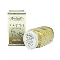 TartufLanghe READY RISOTTO with PORCINI MUSHROOMS and TRUFFLES - 12 Packs of 240g