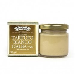 TartufLanghe ALBA WHITE TRUFFLE CREAM 7,5% - 6 Packs of 90g