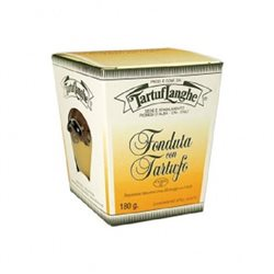 TartufLanghe CHEESE FONDUE WITH TRUFFLE - 12 Packs of 180g