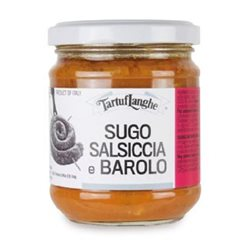 TartufLanghe SAUSAGE AND BAROLO WINE SAUCE - 12 Packs of 185g