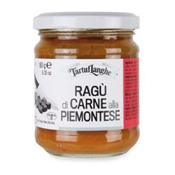 TartufLanghe RAGOUT SAUCE - Piemontese Style - 12 Packs of 180g