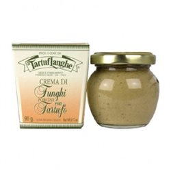 TartufLanghe PORCINI MUSHROOMS and TRUFFLE CREAM - 12 Packs of 90g