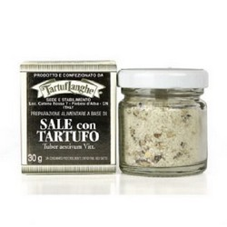 TartufLanghe SALT from GUÉRANDE with TRUFFLE - 12 Packs of 30g