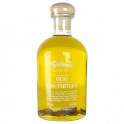 TartufLanghe EXTRA VIRGIN OLIVE OIL with SUMMER TRUFFLE slices - 12 Packs of 250ml