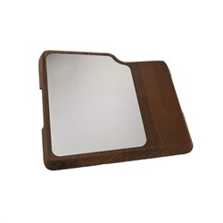 BERKEL Home Line 200 chopping board in wood and steel