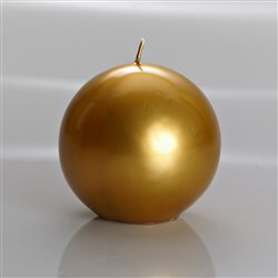 Meloria Italian Luxury Candles - Sfera Oro Candle - Sheffield Line - Ø 150 mm