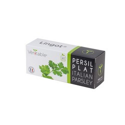 4 packs of Organic Italian Parsley Lingot® - Compatible with all Types of Garden Veritable