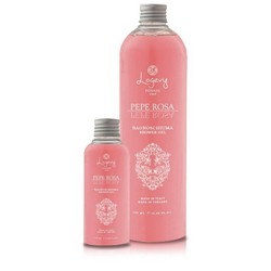 Shower gel - 2 packs of 100 ml - Makes your skin soft and hydrated - Pink pepper