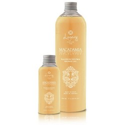 Shower gel - 2 packs of 100 ml - Makes your skin soft and hydrated - Macadamia