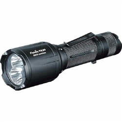 Robust and compact tactical LED flashlight for Hunting Power 1000 lumens