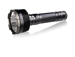 YesEatIs 6000 Lumens Rechargeable Torch with connection from home network and car