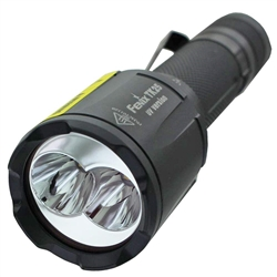 YesEatIs Dual UV torch for 18650 battery, 1000 lumens
