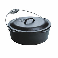 Dutch oven with cast iron handle Ø 33.66 cm