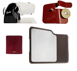 Home Line 250 Black + Slicer Cover Red Size M + Accessory Sharpener for Home Line + Cutting Board wi