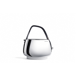 Bugatti - Jacqueline - Stainless steel electronic kettle with smoked-transparent handle