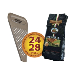 Vacche Rosse Cheese 24 Months 1 Kg + Cheese Grater