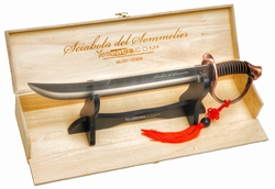 YesEatIs YesEatIs - Sommelier Saber with Wooden Box