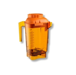 Vitamix Vitamix - Boccale Advance Tritan compatibile con The Quiet One e Drink Machine Advance - Arancio