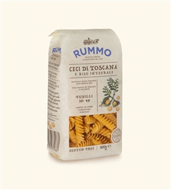 Chickpeas and Rice Line - Fusilli n.48 Bronze Drawn - 16 Packs of 300 g