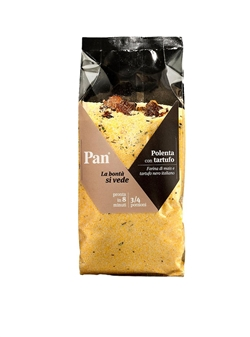 Pan Polente 3/4 Portions - Instant Polenta with Truffle - 300 g