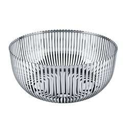 Alessi-Fruit bowl in 18/10 stainless steel