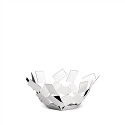 Alessi-La Stanza dello Scirocco Fruit bowl in 18/10 stainless steel