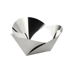 Alessi-Harmonic Basket in 18/10 stainless steel