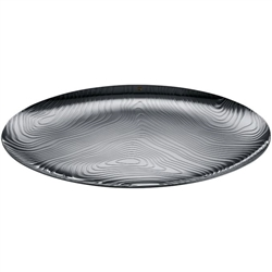 Alessi-Veneer Tray in 18/10 stainless steel with relief decoration