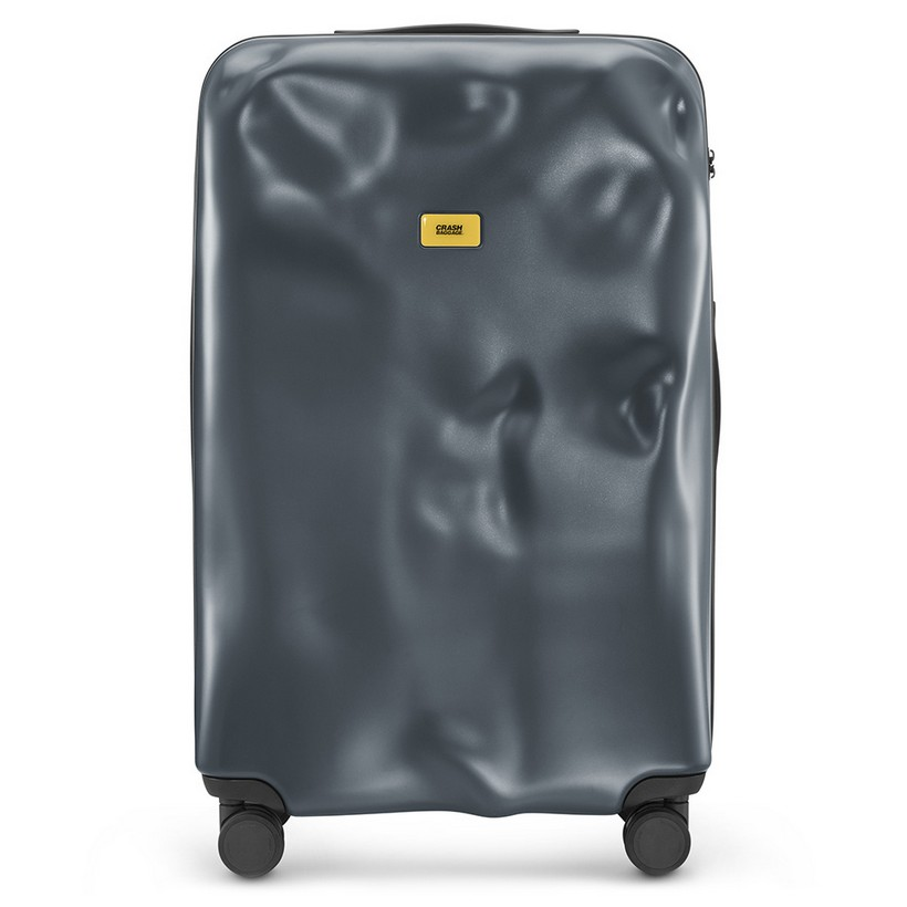 photo Trolley Icon Line - Large Baggare - 4 Wheels - 100 Litres - Dark Grey