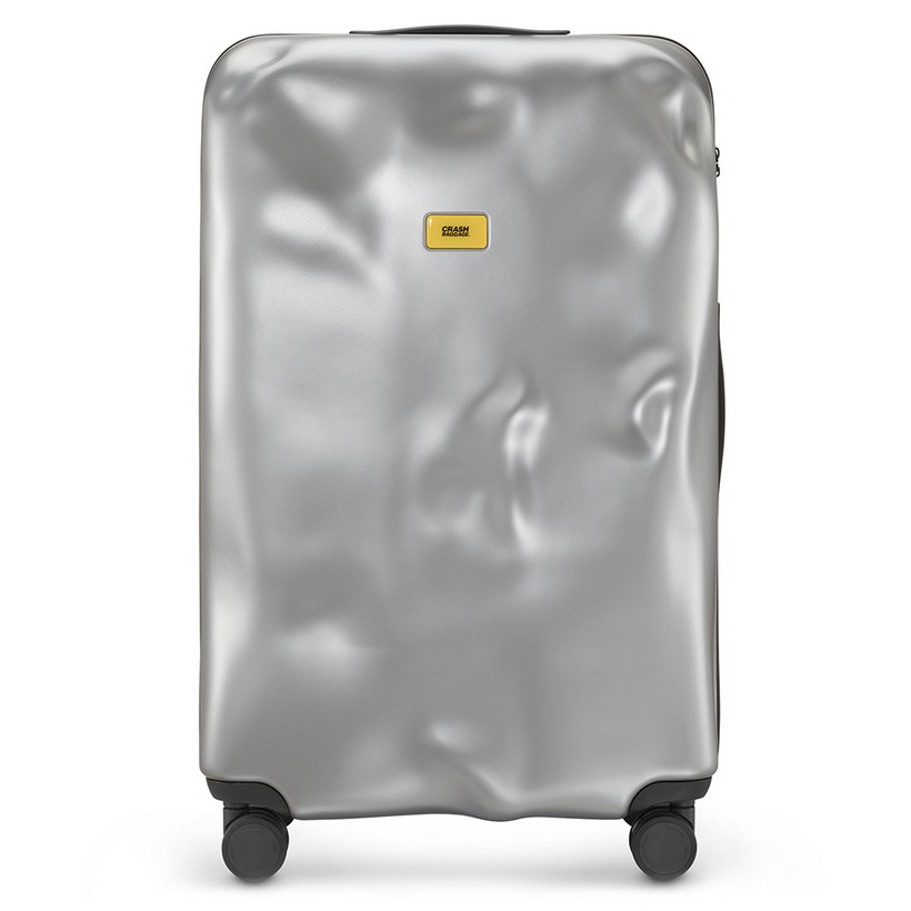 photo Trolley Icon Line - Large Baggare - 4 Wheels - 100 Litres - Metal  Silver
