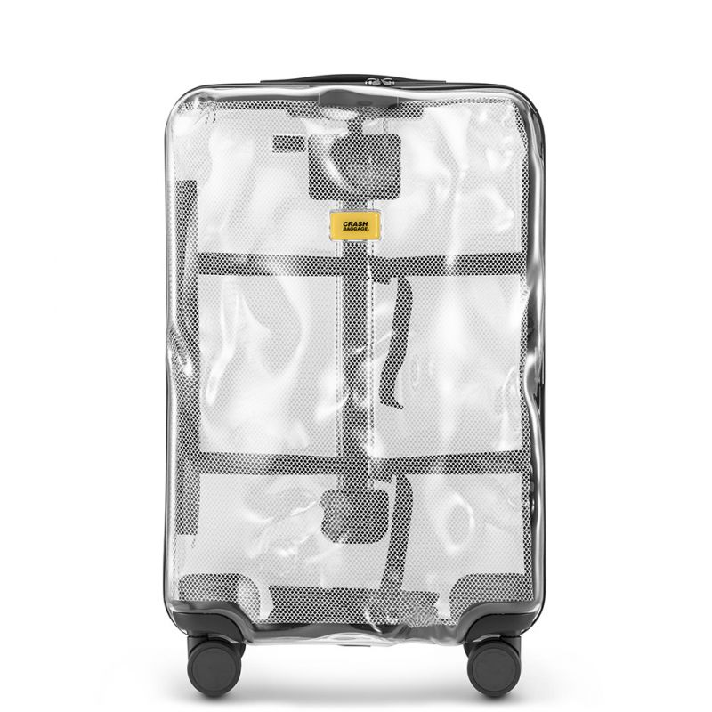 photo Trolley Share Line - Medium Baggage - 4 Wheels - 65 Litres - Transparent