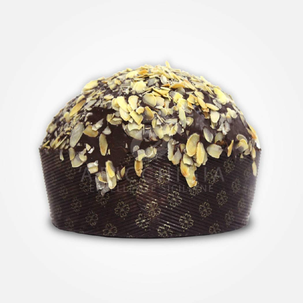 A' Ricchigia - Homemade Panettone with Chocolate and Pears - 750 gr