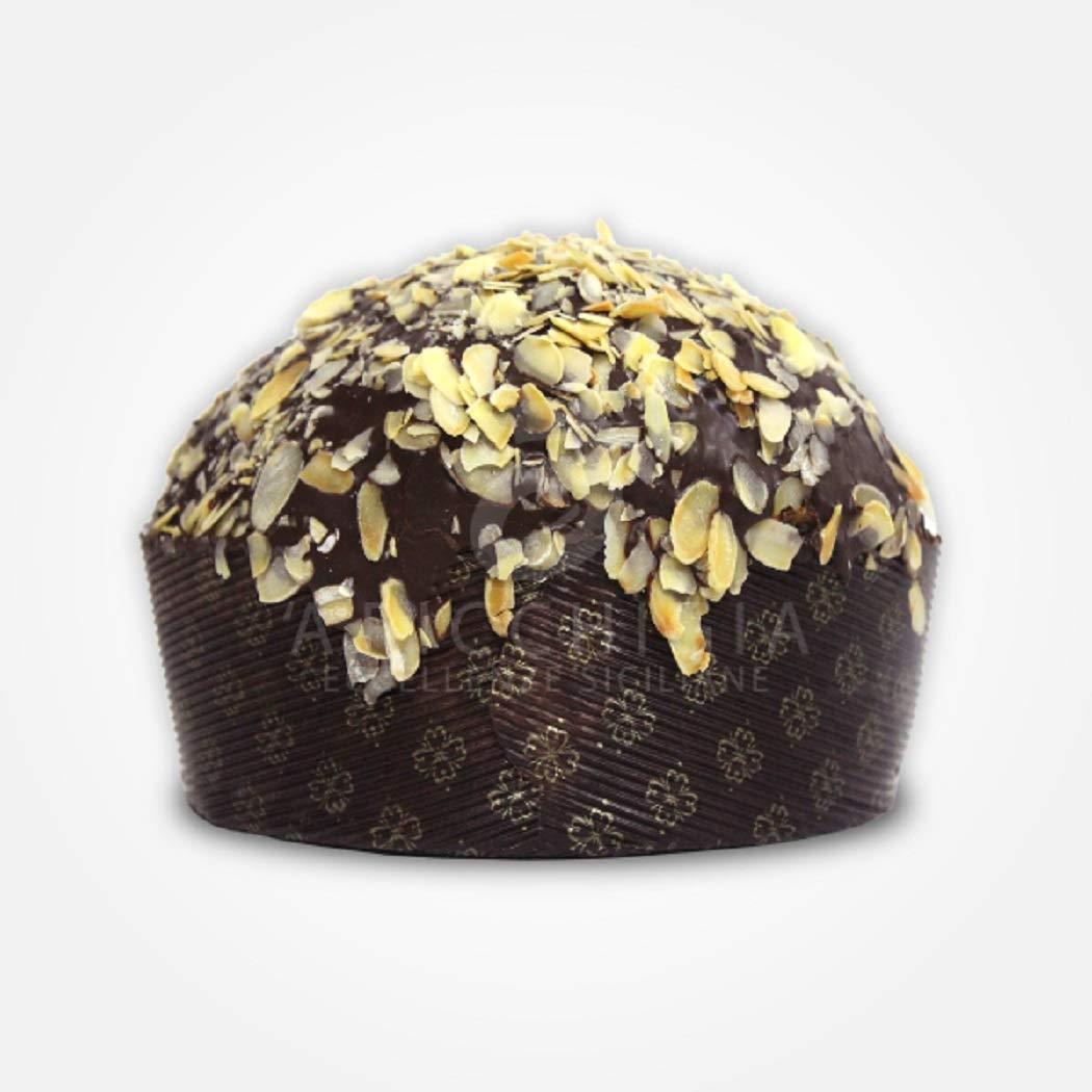 A' Ricchigia - Panettone Artigianale con Pera e Cioccolato - 750 gr